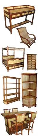 Buy Bali Teak Bamboo Combination Furniture
