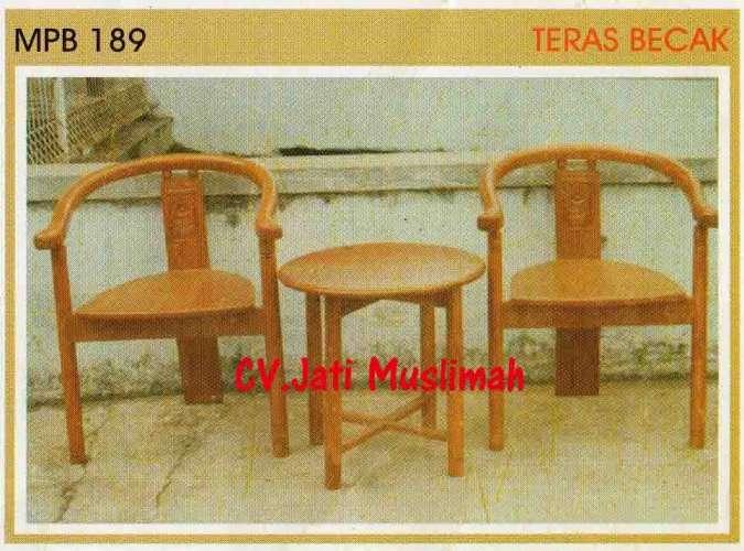 Buy Kursi teras Becak MPB 189