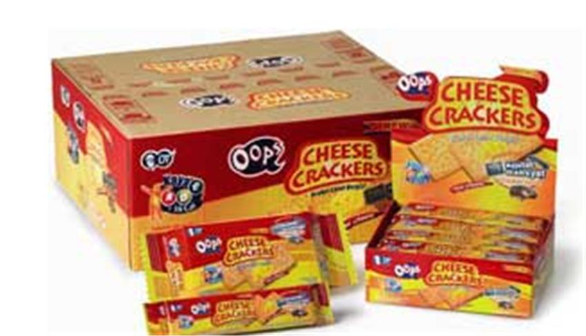 Crackers Oops Cheese
