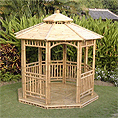 Bamboo Gazebo and Bungalow