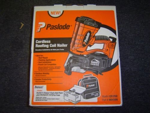 Perfect Paslode Cordless Roofing Coil Nailer