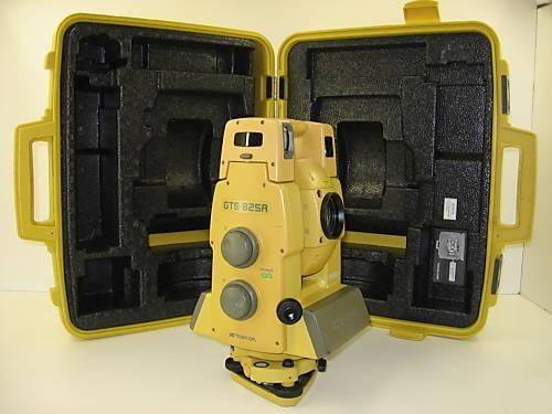 Buy Topcon Gts-825a Robotic Total Station 4 Surveying