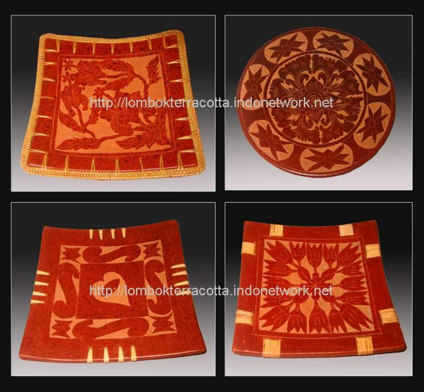 Buy Lombok terracotta-2, piring-piring