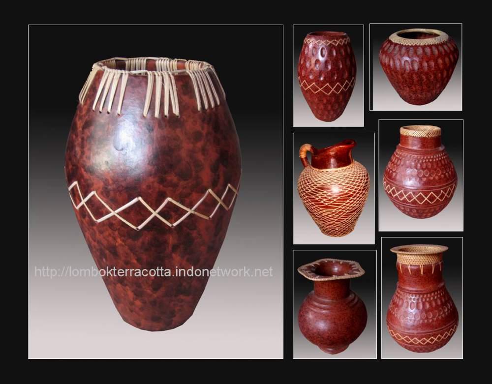 Buy Lombok terracotta-3, vase