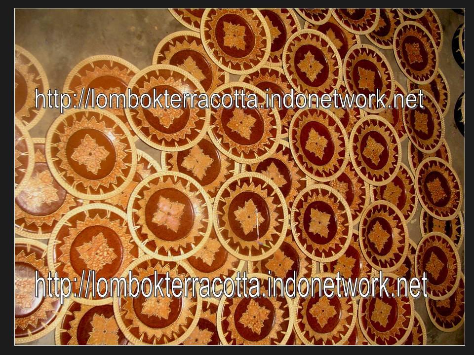 Buy Lombok terracotta-11, piring-piring