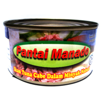 Buy Beach manado chilli tuna in Vegetable Oil