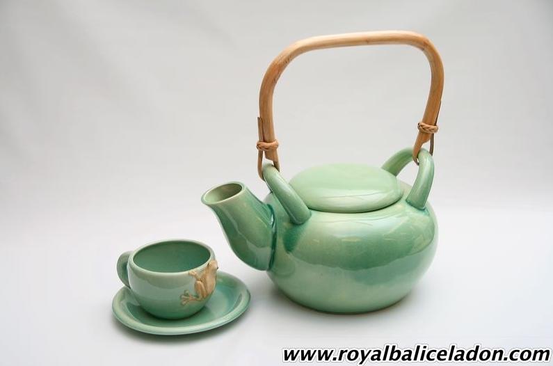 Buy Big Teapot + 1 Cup + 1 Saucer