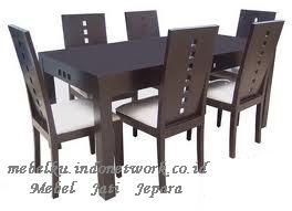 Buy Minimalist Box Dining Table 6 chairs