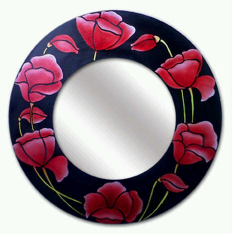 Buy Mirror Tulip Motif