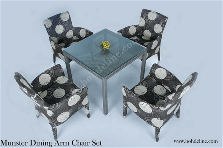 Buy Dining arm chair set Munster