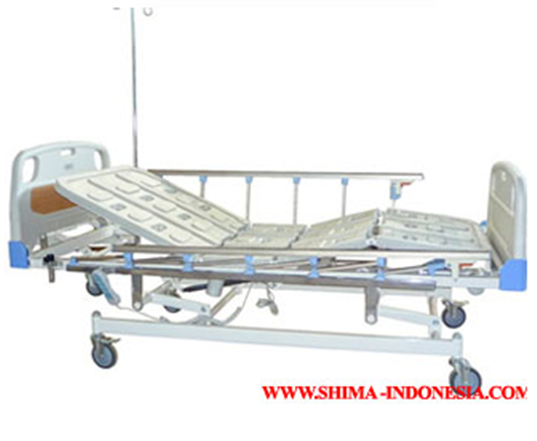 Supreme motorized hi-lo hospital bed