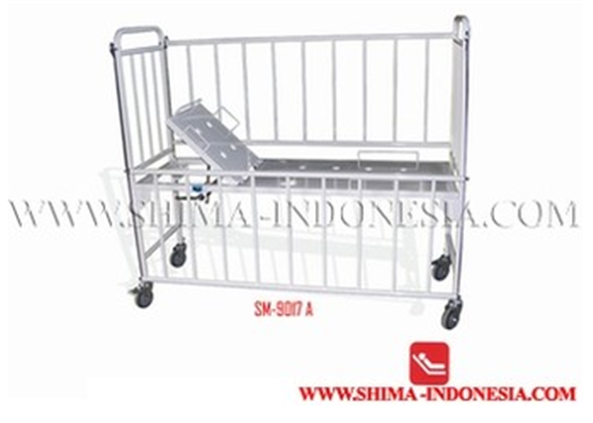 Buy Children hospital bed with manual back raise