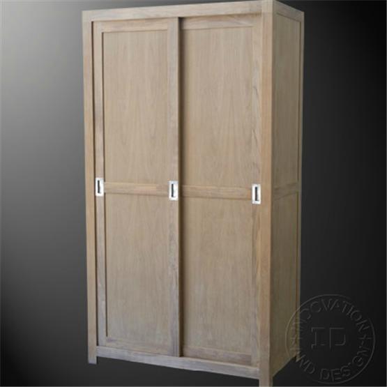 Wardrobe Cabinet 2 Sliding Doors