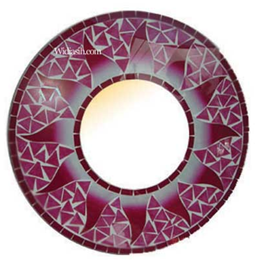 Buy Mirror Rounded Plate
