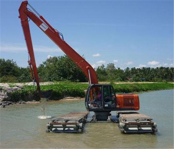 Buy Excavator Amphibious
