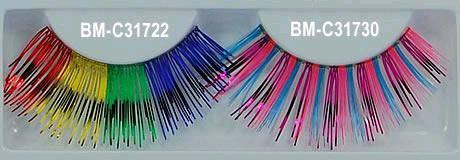 Buy Colourful False Eyelashes BM-C31722-31730