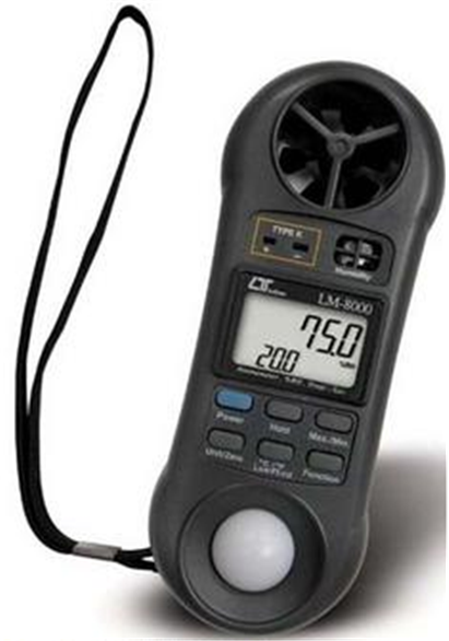 Buy Anemometer Lutron LM-8000