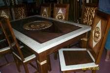 Buy Minimalist dining table sunflower