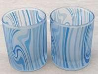 Buy Votive Glass mug with Ocean Motive