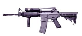 ICS CAR97 Airsoft Gun Full Metal RIS