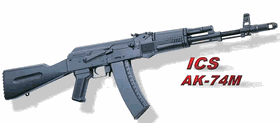 ICS AK 74M Airsoft Gun