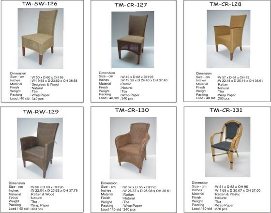 Buy Rattan Bamboo Tables and Chairs