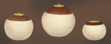 Buy Stone-Round Candle
