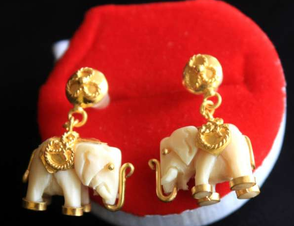Buy Earrings Elephant