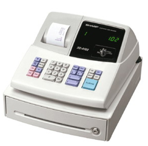 Buy Cash Register Sharp XE-A102