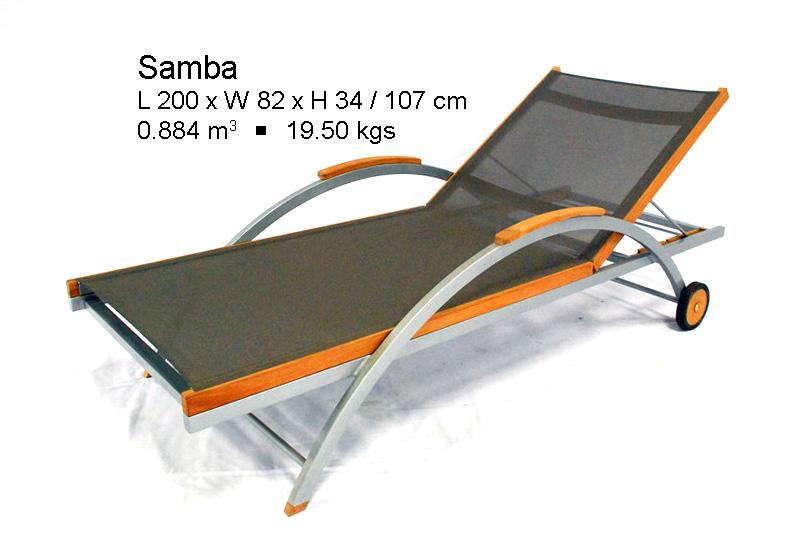 Buy Samba Aluminum Lounger