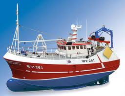 Buy Bulk Cargo Vessel Ship Model