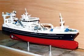 Buy Trawler Ship Model