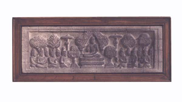 Buy Borobudur Relief Wall Hanging Recta