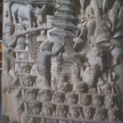 Buy Bali Wood Carving Ngaben Miniature