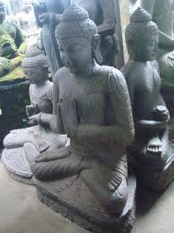 Buy Welcome Statue Bali Carving