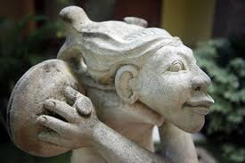 Buy Unique Abstract Bali Stone Carving