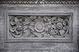 Buy Bali Stone Carvings with Relief Motif