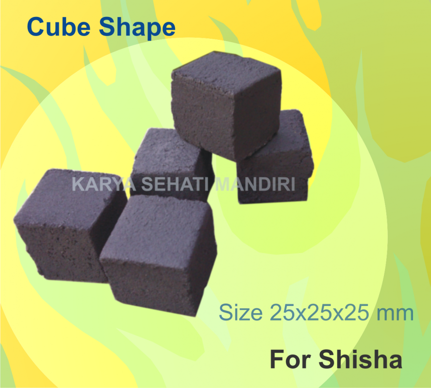 Buy Coco Briquete, Cube 25x25x25mm for Shisha