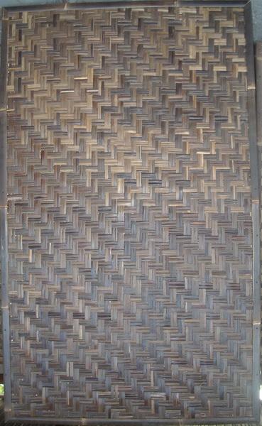 Buy Woven black bamboo
