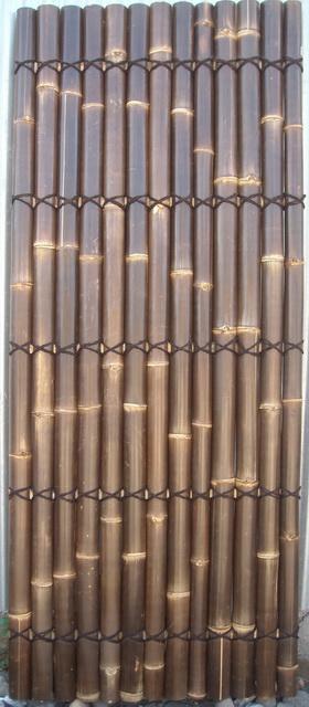 Buy Split black bamboo fencing 240x100cm