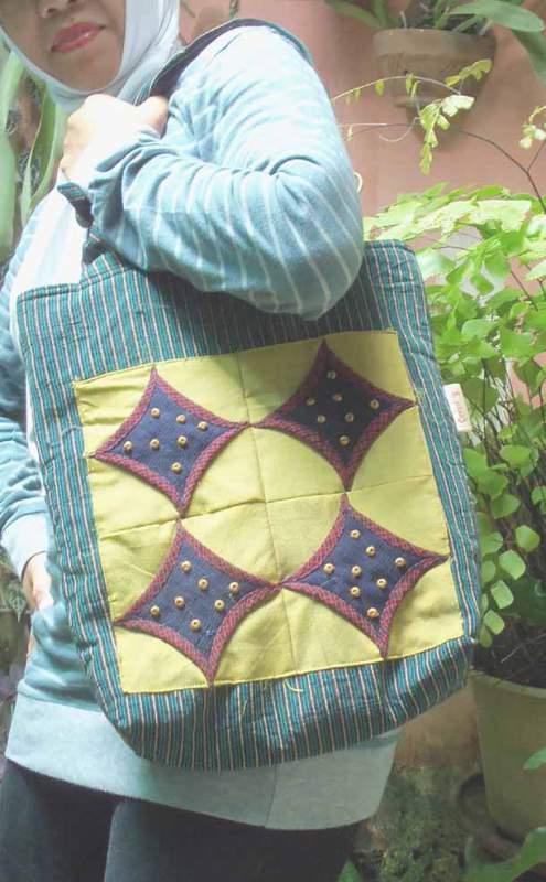 "Buy Patchwork bag ""Star"""