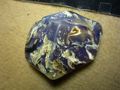 Buy Polished Amber Blue