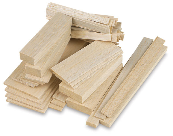 Balsa blocks