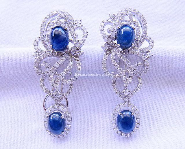 Buy Earrings with diamonds