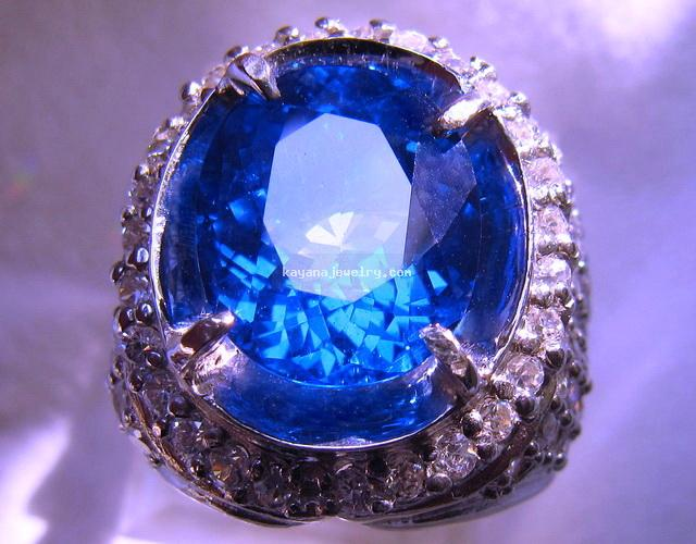 Buy Ring with topaz