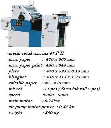 Buy Mesin cetak 1 warna