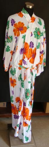 Buy Silk bathrobe