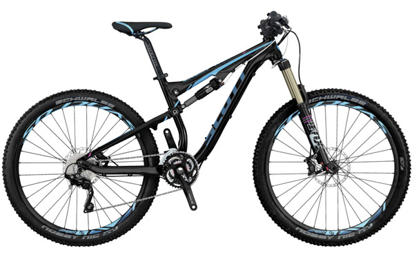 Buy 2014 Scott Contessa Genius 710 Mountain Bike