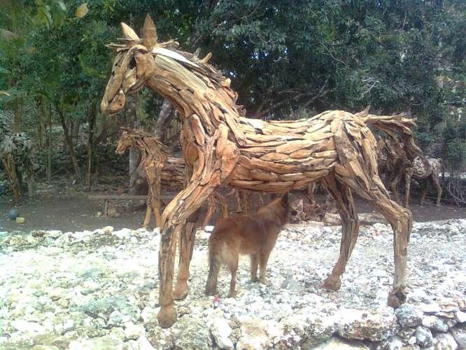Buy Wooden horse