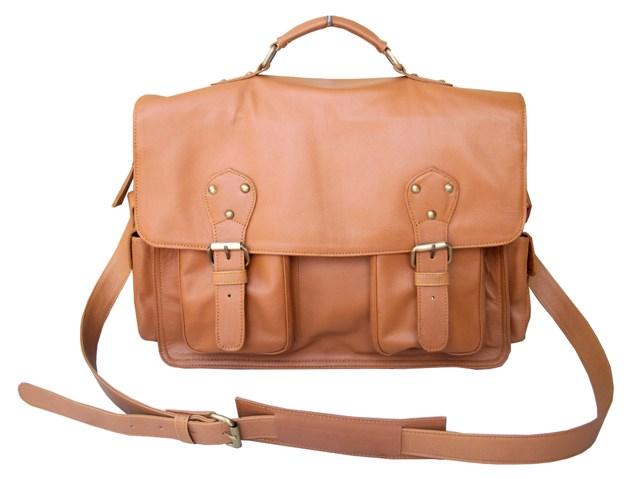 Buy Dellano Briefcase on Camel